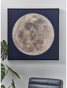 New Moon Canvas by Cox & Cox