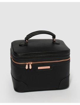 Black Cosmetic Case Pack by Colette Hayman