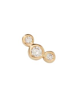 Graduated Diamonds Single Earring by Zoë Chicco