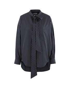 New Swing Poplin Shirt by Balenciaga