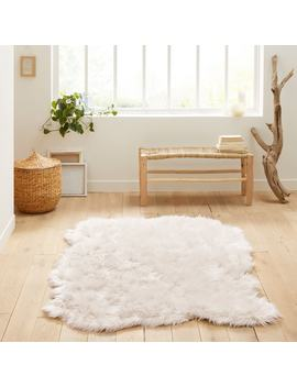 Livio Large Faux Sheepskin Rug by La Redoute Interieurs