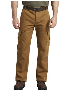 Flex Regular Fit Tough Max™ Duck Cargo Pants by Dickies