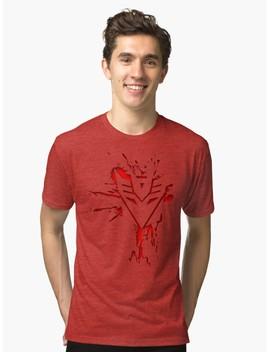 Decepticons Rise  Tri Blend T Shirt by Sixfiftyfive