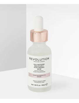 Targeted Under Eye Serum   5% Caffeine Solution + Hyaluronic Acid by Revolution Skincare