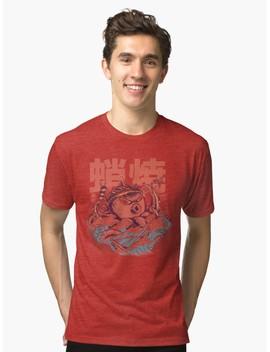 Takoyaki Attack Tri Blend T Shirt by Ilustrata Design