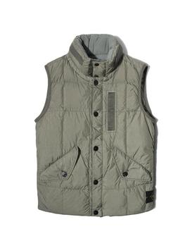 Real Down Jacket No Sleeves 7115 G0123 by Bodega