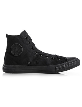 Converse Chuck Taylor Unisex All Star High Top Shoe   Monochrome Black by Converse