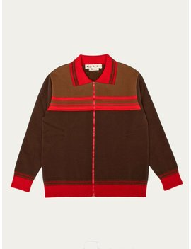 Zip Front Cardigan by Marni