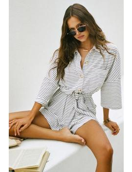 Milena Playsuit   Stripe by Sabo Skirt