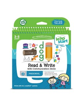 Leap Frog Leap Start Preschool Activity Book: Read & Write And Communication by Smyths