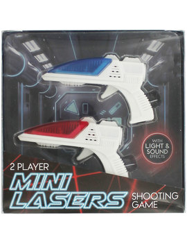 Mini Lasers Shooting Game   2 Pack by The Works
