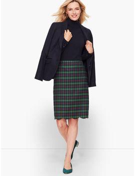 Talbots Tartan A Line Skirt by Talbots