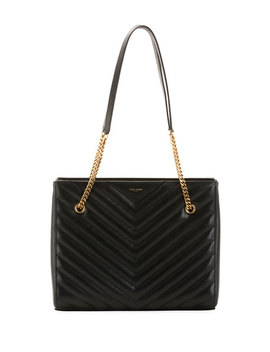 Tribeca Medium Double Chain Shoulder Bag by Saint Laurent