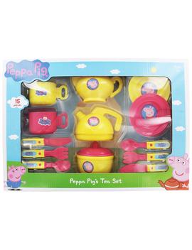 Peppa Pig Tea Set by The Works