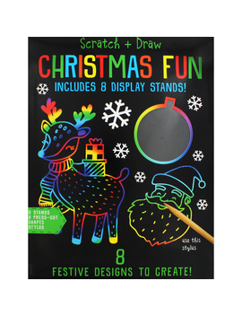 Scratch And Draw Christmas Fun by The Works