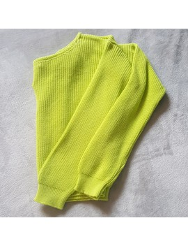 Lime Green Jumper  🔎Brand: Pretty Little Thing 🔎Uk by Depop