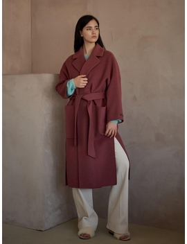 Cashmere Maxi Handmade Coat by Mitte