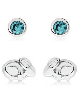 Beatrix Potter Sterling Silver Set Of 2 Stud Earrings884/6943 by Argos