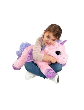 60cm Sprinkle The Pegasus   Pink by Smyths