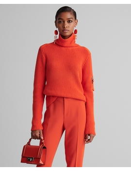 Ribbed Cashmere Turtleneck by Ralph Lauren