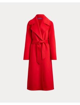 Leonarda Cashmere Wrap Coat by Ralph Lauren