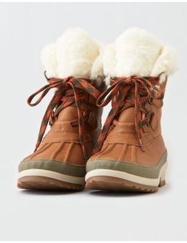 Sperry Maritime Winter Leather Snow Boot by American Eagle Outfitters