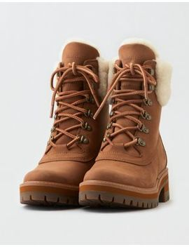 Timberland Courmayeur Valley Shearling Lined Boot by American Eagle Outfitters