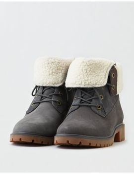 Timberland Jayne Teddy Fleece Fold Down Boot by American Eagle Outfitters