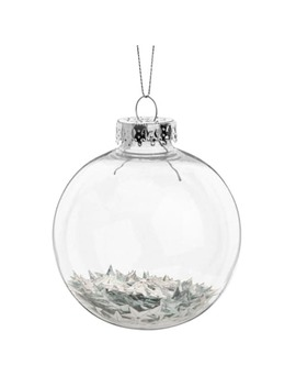 Star Confetti Christmas Bauble by Maisons Du Monde