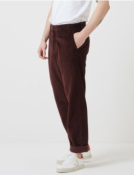 Norse Projects Aros Corduroy Chino   Burnt Sienna Brown by Garmentory