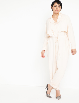 Soft Utility Jumpsuit by Eloquii