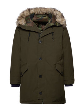 Faux Fur Trim Down Parka by Polo Ralph Lauren Big & Tall