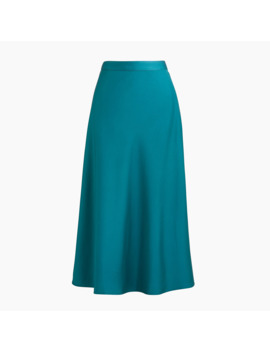 Pull On Bias Midi Skirt by J.Crew