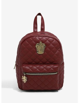 Harry Potter Gryffindor Quilted Mini Backpack by Hot Topic