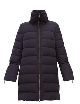Belia Fluted Sleeve Quilted Down Coat by Moncler