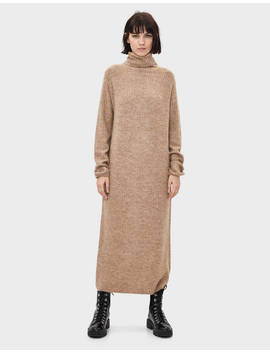 Vestito Lungo Con Mezzo Collo by Bershka