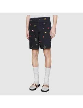 Pantolette Aus Kautschuk Mit Gucci&Nbsp;Streifen by Gucci
