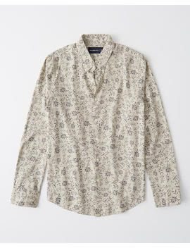 Rsvp Button Up Shirt by Abercrombie & Fitch