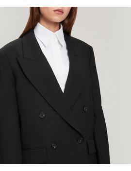 Morgan Single Breasted Wool Blend Jacket by Joseph