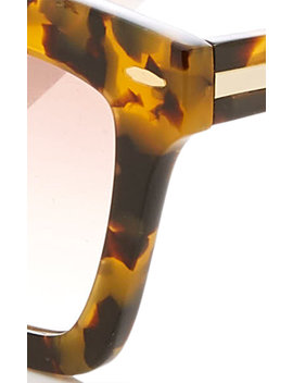 Banks Square Acetate Sunglasses by Karen Walker
