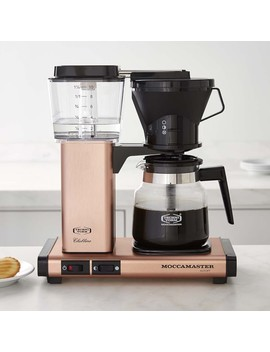 Moccamaster By Technivorm Kb Ao Glass Coffee, Copper by Williams   Sonoma
