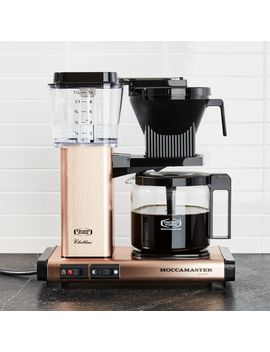 Moccamaster 10 Cup Copper Coffee Maker by Crate&Barrel