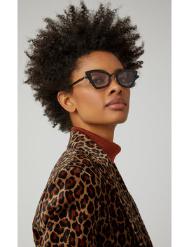 Bad Apple Square Frame Acetate Sunglasses by Karen Walker