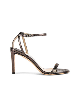 Lizard Print Minny 85 Sandal by Jimmy Choo