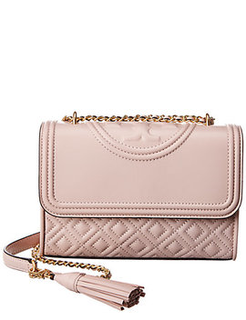Tory Burch Fleming Small Convertible Leather Shoulder Bag by Tory Burch