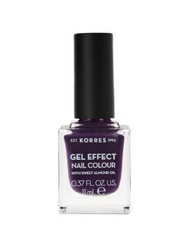 Korres Natural Gel Effect Nail Colour   Violet Garden 11ml by Korres