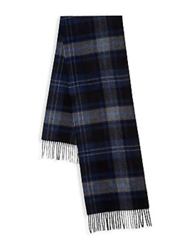 Cashmere Plaid Scarf by Saks Fifth Avenue