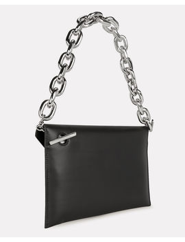 Chain Strap Envelope Clutch by Paco Rabanne