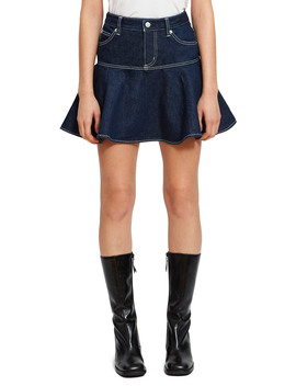 Denim Flare Skirt by Chloe Sevigny For Opening Ceremony
