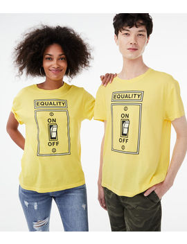 Aero One Equality Graphic Tee by Aeropostale